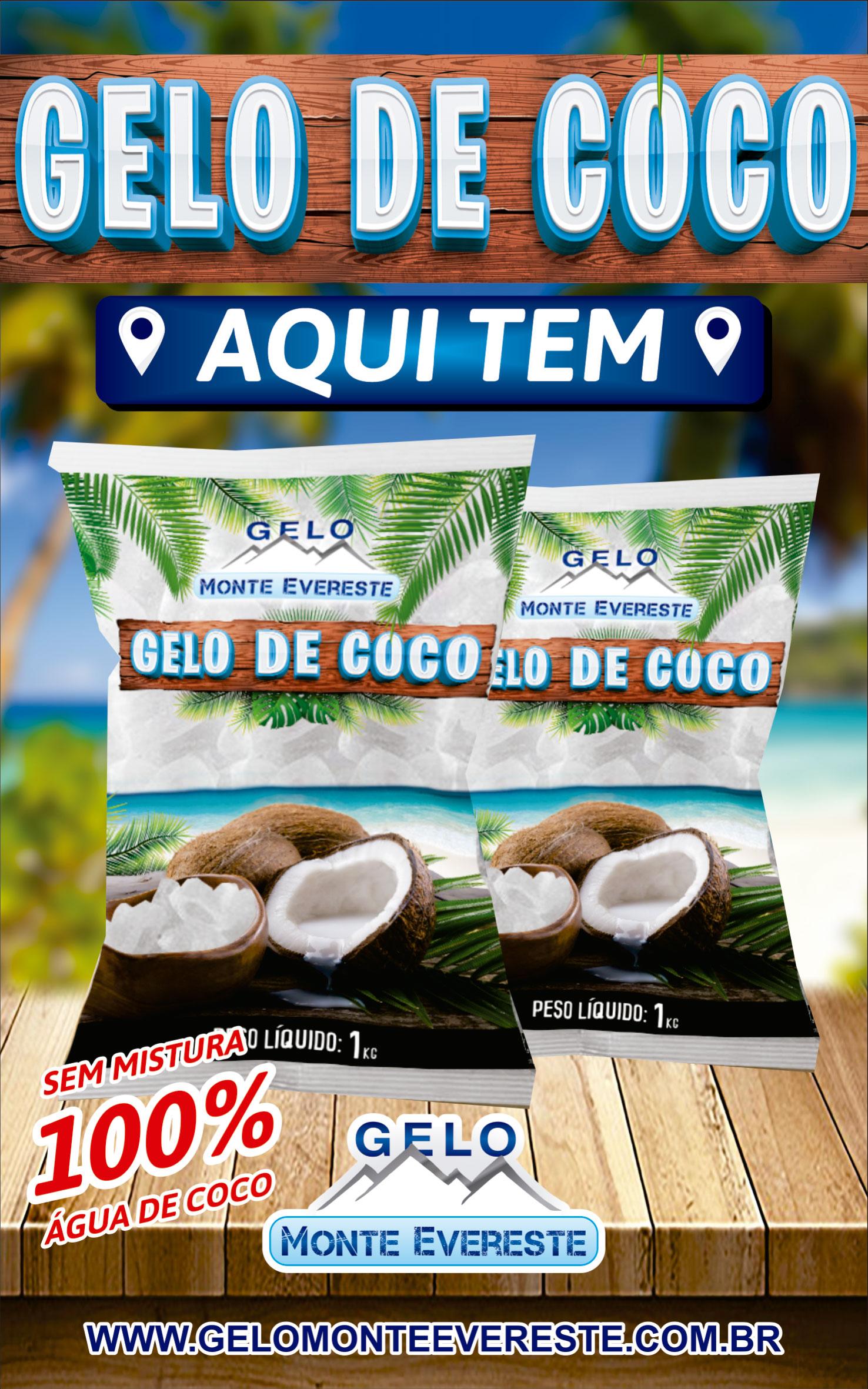GELO DE COCO EM CURITIBA